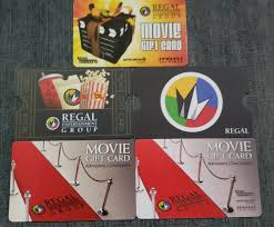 Regal Entertainment Group 5 Gift Card Lot No Value Collectible Only Ebay