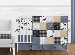 nursery baby boy crib bedding set