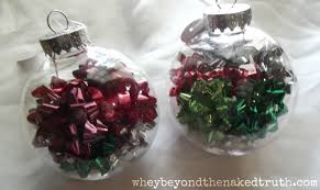 Decorating Clear Christmas Balls Cool 32 Creative Ideas For Decorating And Filling Clear Glass Ornaments