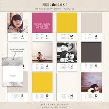 Monthly Calendar 2013 2013 Calendar Kit