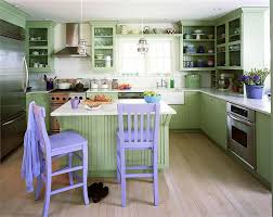 Green and Purple Kitchen Colors