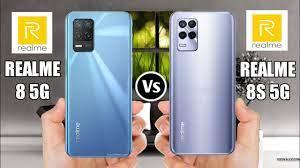 Realme 8 5G Vs Realme 8s 5G - YouTube