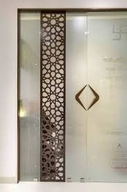 Glass door designs Bathroom Mandir Glass Door Pinterest Mandir Glass Door Home Pinterest Door Design Doors And Pooja