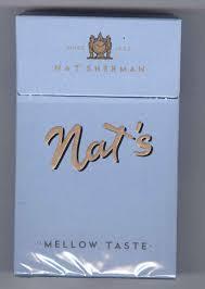 Nat Sherman Lights Death Metal Underground Nat Sherman Nats Mellow Taste 2018