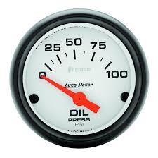 gauges phantom 2 1 16 oil pressure 0 100 psi air core phantom