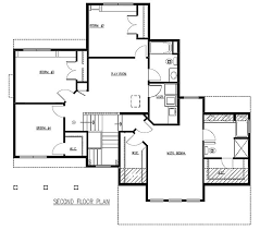 2 story 4 bedroom floor plans luxury 4 bedroom ranch style house floor plans awesome square