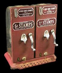 History Of Vending Machines Cool Schermack Stamp Vending Machine