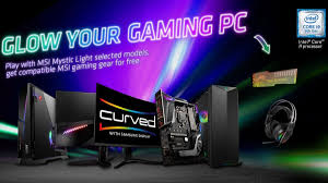 Msi Mystic Light Utility Msi Revamps Mystic Light Microsite With A Lighting Software