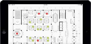 office planner software. schedule desk and workspaces simplify office hoteling planner software