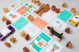 Modern Design Toys Toydrop Identity Charlie Smith Design