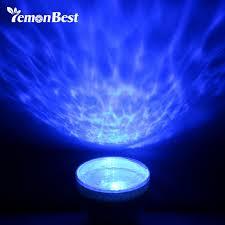 relaxing lighting. LemonBest USB Ocean LED Night Light Portable Sea Daren Waves Projector Relaxing Novelty Table Lamp Lighting H
