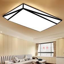 new design black white led ceiling light for livingroom dining bedroom luminarias para teto led