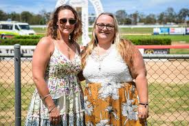 Dena ODonnell and Peta Roche waiting neat the finish line ... | Buy Photos  Online | Sunshine Coast Daily