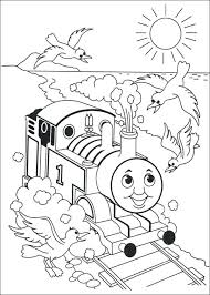 Coloring Page Thomas The Train The Tank Engine Printable Coloring