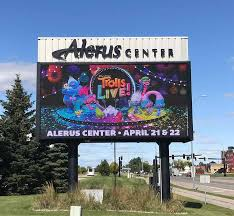 Alerus Center Concert Seating Chart Alerus Center Upgrades Marquee Concourse Signage With
