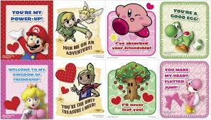 Day Cards To Print Print Out Mario Zelda Kirby And Yoshi S Day Cards From