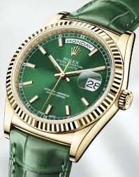 men s rolex oyster perpetual day date 36 replica watches men s rolex oyster perpetual day date 36 copy watches green dial