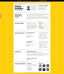 Brilliant Ideas Of Resume Website Design Fantastic A Few Interesting
