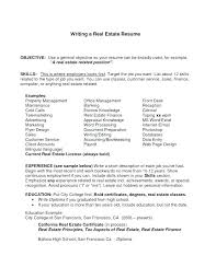 Appraiser Sample Resumes Interesting Real Estate Agent Resume Sample Templates Objective Lovely Appraiser