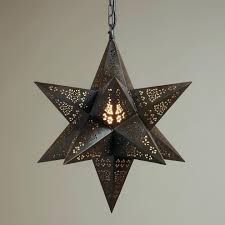 image of moravian star light fixture stylemoroccan style pendant shades moroccan hanging