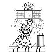 Small Picture Coloring page Mario Bros and Luigi Nintendo 4776