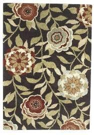 brown polypropylene medium rug a furniture rugs ashley