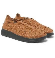 malibu missoni woven faux leather sandals