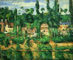 post impressionist painting by paul cézanne zola s house at médan oil on canvas