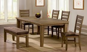 table 4 chairs and bench. brilliant dining table and chairs with bench long narrow hardwood 4