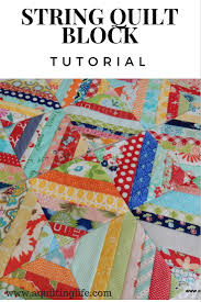 String Quilt Blocks--A Tutorial   A Quilting Life - a quilt blog &  Adamdwight.com