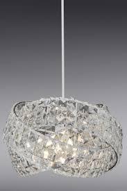 next superzoom clear venetian 5 light chandelier