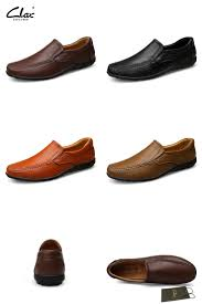 [Visit to Buy] Clax <b>Men Soft Leather</b> Loafers 2017 Spring <b>Summer</b> ...