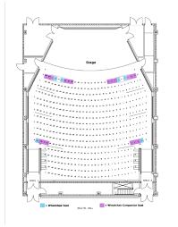 Benaroya Seating Chart Recital Hall