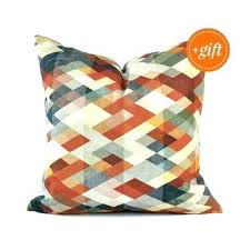 cool couch pillows. Interesting Couch Orange And Blue Throw Pillows Cool Burnt Pillow  For Couch Colorful   For Cool Couch Pillows