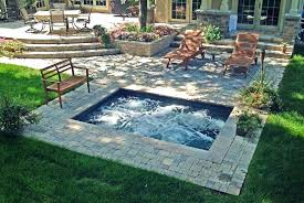 in ground jacuzzi. 8 In Ground Jacuzzi J