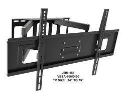 led tv wall corner mount double arm