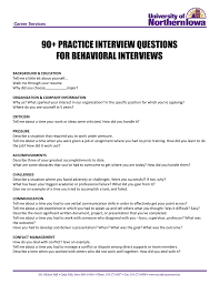 90 Practice Interview Questions For Behavioral Interviews