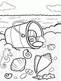 Small Picture Seashells Coloring Page Coloring Home