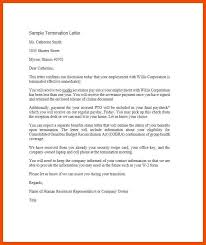 How To Write A Termination Letter To An Employer 100100 separation letter from employer template formatmemo 79