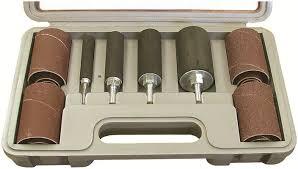 drum sander for drill. mini long drum sanding set sander for drill