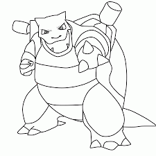 Small Picture Mega Blastoise Coloring Pages High Quality Coloring Pages