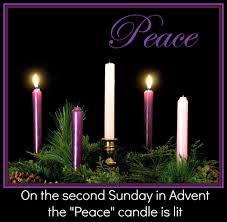 Image result for IMAGE OF SECOND ADVENT CANDLE