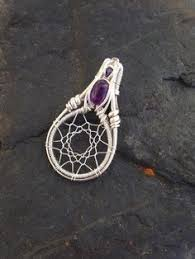 Wire Wrap Dream Catcher Tutorial Image result for how to wire wrap a heartshaped gemstone 14