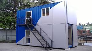 Office in container Inside Site Office Convertainers Qingyun Xinmao Steel Structure Co Ltd Site Office Convertainers Containers Advantis Engineering