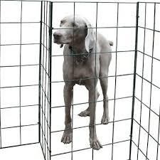 foldable dog fence by flexipanel