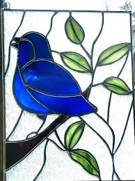 stained glass stain glass birds stained bird patterns hummingbird pattern books designs bo