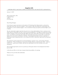 Cover Letter Sales Cover Letter Examples Great Sales Cover Letter