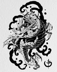 Dragon Art Tattoos Designs