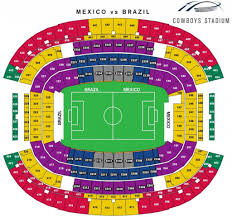 Dallas Cowboy Seating Chart New Stadium Brilliant And Also Stunning At T Stadium Seating Chart