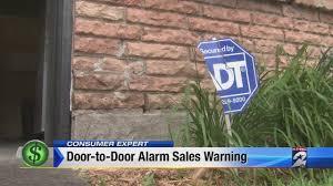 Door-to-door home alarm system scammers hit Houston